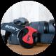カメラのレンズキャップの保管場所に困っているときは、キャップクリップがおすすめ。